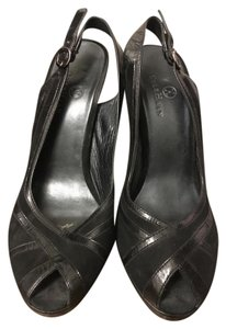 Cole Haan Heels Slingback Black Pumps
