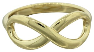 Tiffany & Co. Tiffany & Co. 18k Yellow Gold Twist Knot Infinity Band Ring