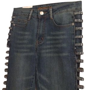 Other Straight Leg Jeans-Light Wash