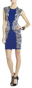 BCBGMAXAZRIA Nwt Bcbg Cobalt Spring Knit Dress