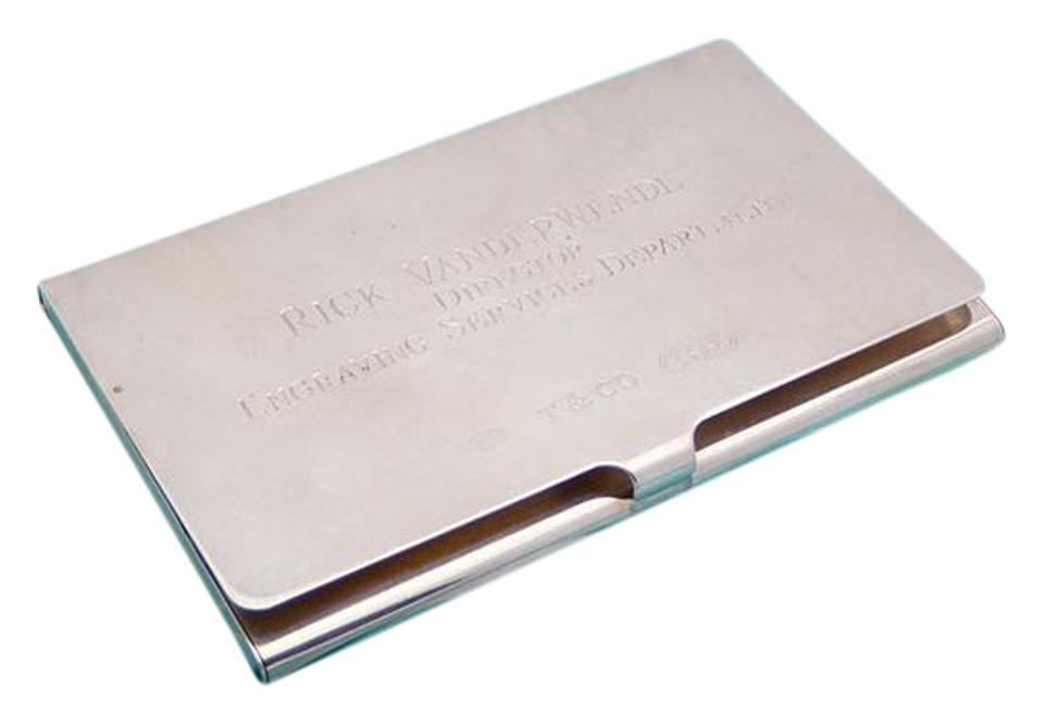 Silver Sterling Business Card Holder