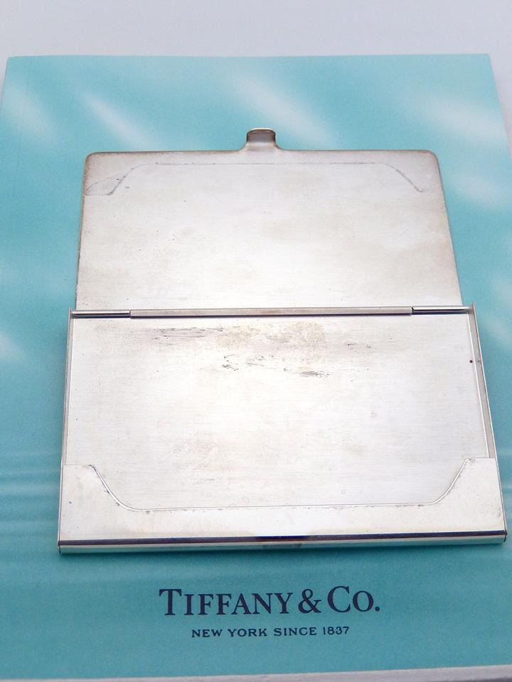 Tiffany & Co. Silver Sterling Business Card Holder Engraved - Tradesy