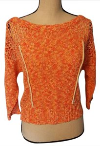 Plenty by Tracy Reese Open Knit Pull On Fresh Sweater
