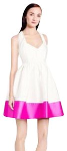 Kate Spade Party Color-blocking Halter Dress