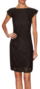 Ava & Aiden Lace Cap Sleeve Sheath Dress