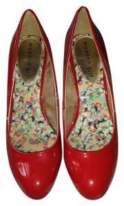 fca4a673b707 Red Madden Girl Pumps - Up to 90% off at Tradesy