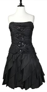 Cache Strapless Cocktail Formal Dress