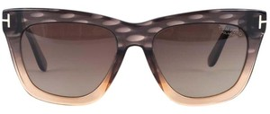 Tom Ford Tom Ford grey and blush speckled 'Celina' sunglasses