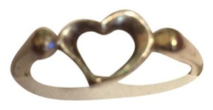 Tiffany & Co. Tiffany's Sterling Silver Heart Ring Size8