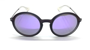 Ray-Ban RB 4222 6168/4V CUTE ROUND SUNGLASSES PURPLE LENS