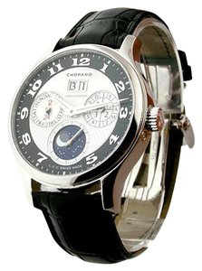 Chopard CHOPARD L.U.C Lunar One Silver and Black Dial Mens Watch