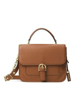 Michael Kors Studio Natalie Satchel in Luggage