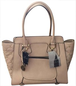 London Fog Color No Box Ivory Simulated Leather Tote Tradesy