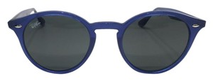 Ray-Ban RB 2180 6165/87 - BLUE RETRO ROUND RAY BAN SUNGLASSES - Free Shipping