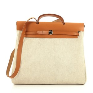 Hermès Lether Tote in Brown