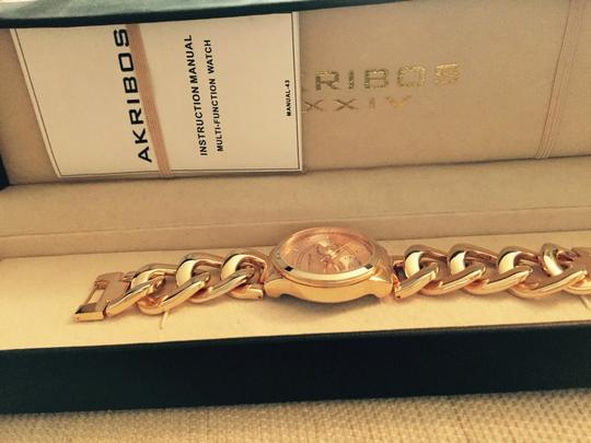 Akribos XXIV Akribos Rose Gold Women's Watch