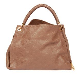 Louis Vuitton Leather Artsy Hobo Bag