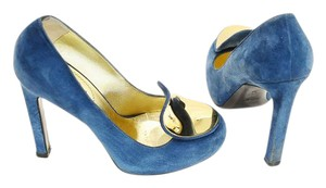 Saint Laurent blue Pumps