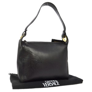 Versace Vintage Classic Leather Speedy Shoulder Bag