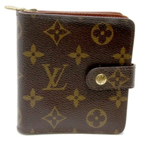 Louis Vuitton Louis Vuitton Signature LV Monogram Kissloc Porte Monnaie Clasp