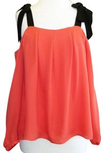 Nicole Miller Top coral