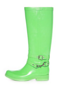 Coach Neon Lime Green Boots