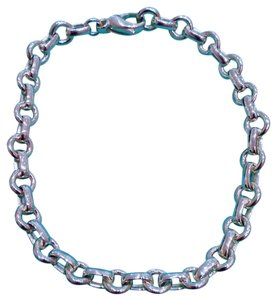 Tiffany & Co. Authentic Tiffany & Co. Sterling Silver Doughnut Link Bracelet