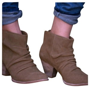 Splendid Ankle Latte Tan Boots
