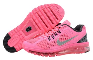 Nike Air Max Running Fitness Polarized Pink/Reflective Silver Athletic