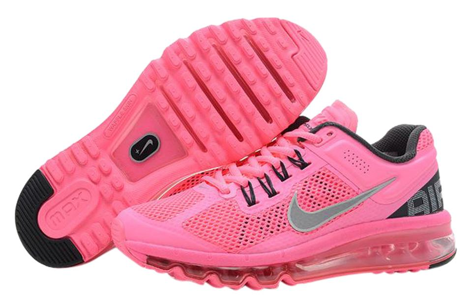 separation shoes 800a7 6dc1c Nike Air Max Running Fitness Polarized Pink Reflective Silver Athletic  Image 0 ...