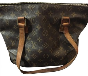 Louis Vuitton Tote in Traditional LV Brown