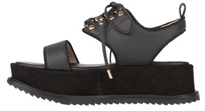Matisse Suede Grunge Kate Bosworth Leather black Platforms