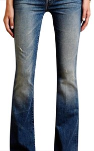 Mother Flare Leg Jeans-Distressed