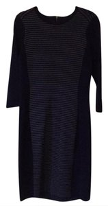 J.McLaughlin short dress Navy & Grey on Tradesy