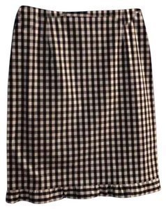 Etcetera Skirt black and white gingham
