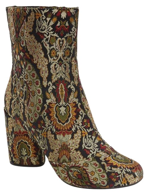 Item - Multicolor Harry Jacquard Boots/Booties Size US 6.5