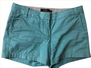 J.Crew Chino 4 Inch Shorts teal