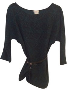 ECI New York Belted Flattering Sweater