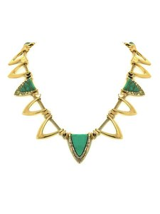House of Harlow 1960 Goddess Trinity Necklace