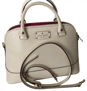 Kate Spade Satchel in cream ivory