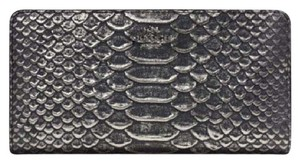 Coach SKINNY wallet exotic embossed leather 55906 NWT COACH Reserved!!!