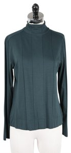 Akris Top Teal Green