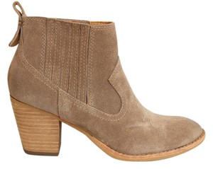Dolce Vita Embroidered Suede Western Tan Boots