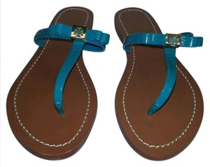 Tory Burch Atlantic Blue Sandals