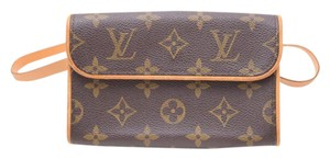 Louis Vuitton Waist Fanny Pack Pochette Monogram Belt Baguette