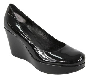 Marc by Marc Jacobs Patent Leather Black Wedges