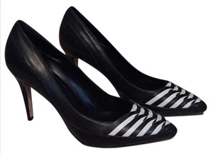 White House | Black Market Black and White Pumps