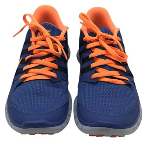 Nike Bright Color-blocking Orange/Purple Athletic