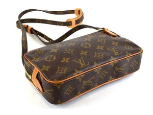Louis Vuitton Marly Pochette Brown Cross Body Bag