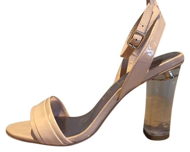 Item - Pink Comfortable Open Toe Perfect For Day Or Evening. Pumps Size US 7.5 Regular (M, B)